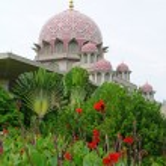 Putra Mosque in Putrajaya, Malaysia — Stock Photo