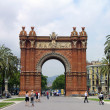 Triumph Arch, Barcelona, Spain — Stock Photo