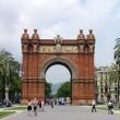 Triumph Arch, Barcelona, Spain — Stock Photo #1419890