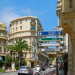 Street of Monte-Carlo — Stock Photo