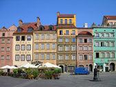 Market Square, Warsaw, Poland — Stock Photo