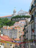 Centro de lisboa, portugal — Foto de Stock