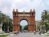 Triumph Arch, Barcelona, Spain — Stock Photo