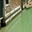 Typical water street in Venice - Photo