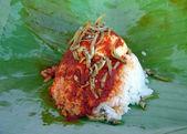 Traditional Malaysian breakfast — Stock Photo