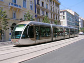 Tramway moderne, nice, france — Photo