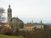 Kościół świętego jakuba w kutná hora, czechy — Zdjęcie stockowe