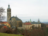 St. James church in Kutna Hora, Czechia — 图库照片