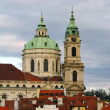 St. Nicolas Church, Mala Strana, Prague — Stock Photo