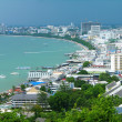 Stock Photo: Pattaya city bird eye view, Thailand