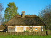 Authentic Ukrainian house — Stock Photo