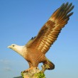 Big eagle statue, Langkawi, Malaysia — Stock Photo #2584737