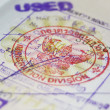 Stock Photo: Passport with Thailand visa