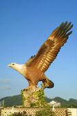 Big eagle statue, Langkawi, Malaysia — Stock Photo