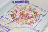 Passport with Thailand visa — Stockfoto