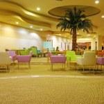 Modern hotel lobby — Stock Photo #2614978
