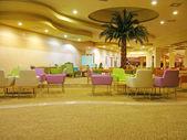 Moderne hotel-lobby — Stockfoto
