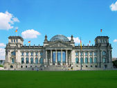 Reichstag building, Berlin, Germany — Stock Photo