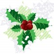 Royalty-Free Stock Photo: Christmas  holly,