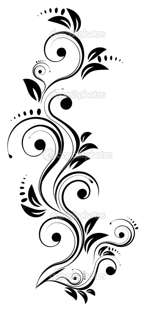 Elegance, element, floral — Stock Vector #1132263