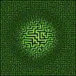 Royalty-Free Stock Photo: Labyrinth maze background