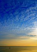 サイレント日の出 — ストック写真
