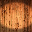 Rough painted planks - Stock Photo