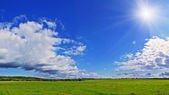 Rural panorama — Stockfoto