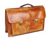 Old briefcase a — Stock Photo