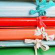 Royalty-Free Stock Photo: Folders with bows