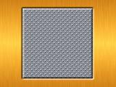 Metallplatten — Stockfoto