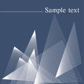 Textura lineal abstracto. — Vector de stock