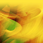 Abstract yellow decoration background — Stock Photo