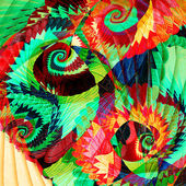 Abstract artistic spiral background. — Stock Photo