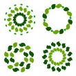 Stock Photo: Green wreaths