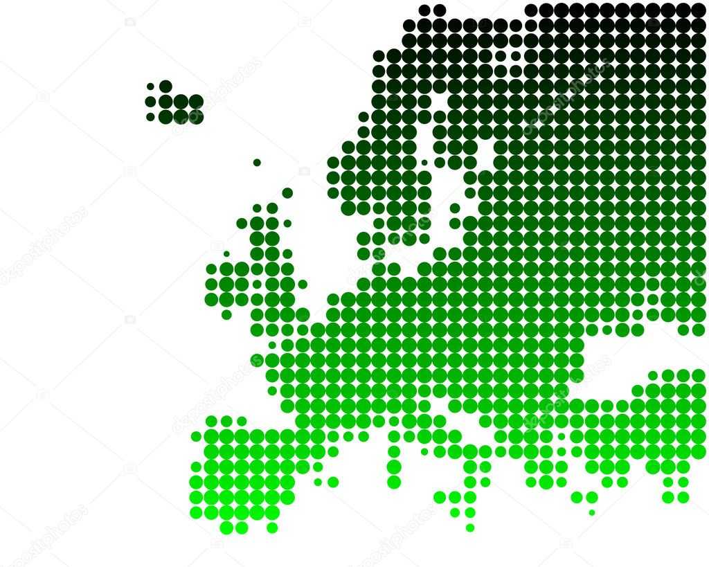 Map of Europe — Stock Photo #1203026