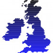 Stock fotografie: Map of British Isles