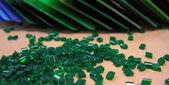 Green Plastics — Stock Photo