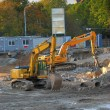 Royalty-Free Stock Photo: Two bulldozers