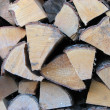Royalty-Free Stock Photo: Wood Pile close up