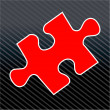 Jigsaw Puzzle Piece — Stock Vector