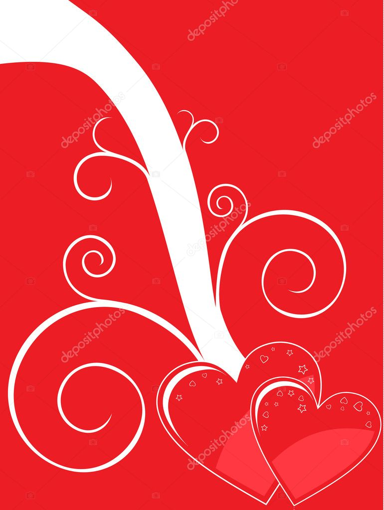 Valentine background — Stock Vector #1372976