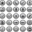 Stock Vector: Web icons set