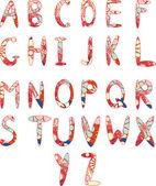 Alphabet2 — Stock Vector