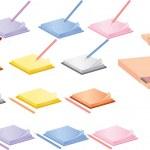 笔记本和铅笔 — 图库矢量图片