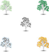 Tree1 — Stock Vector