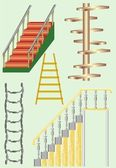 Ladder version — Stock Vector