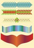 Decorative strip. — Stock Vector