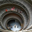 Vatican. A double spiral staircase — Stock Photo #1121675
