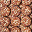 Royalty-Free Stock Photo: Sweet cookies as background